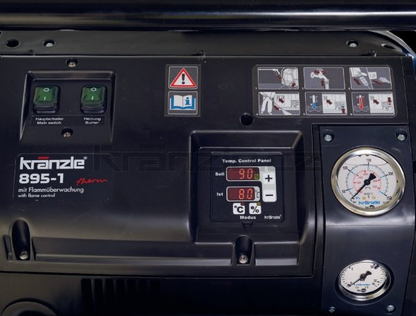 Vysokotlaký čistič Kränzle therm 1200-RP