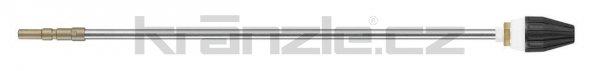 Kränzle nástavec s rotační keramickou bodovou tryskou 03, 500 mm (D12)