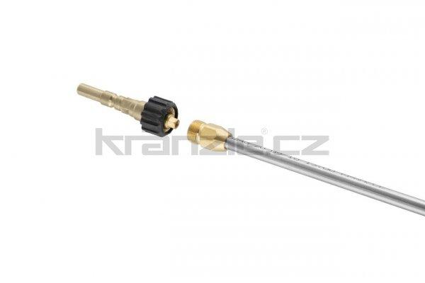 Kränzle adaptér M22x1,5 na rychlospojkový trn Kränzle D12 s pojistkou proti přetočení