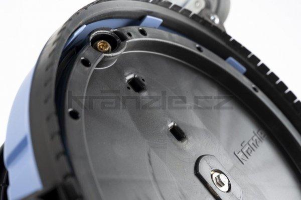Kränzle rotační čistič ploch UFO s prodloužením a kolečky, pr. 300 mm, D12
