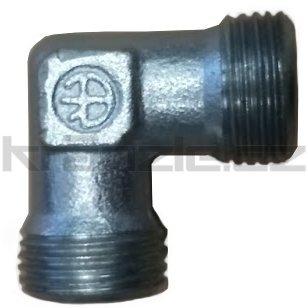 Kolínko 12 mm x 12 mm, M18x1,5 vnější závit