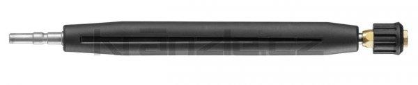 Kränzle dlouhý nástavec s regulací bez trysky, vnitřní závit 1/4, 340 mm (D12)