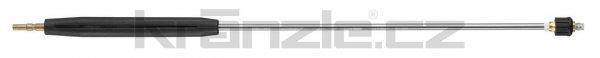 Kränzle nástavec se základní plochou tryskou D2503, s plastovým madlem a regulací, 1000 mm (D12)