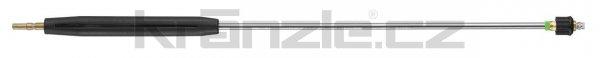 Kränzle nástavec se základní plochou tryskou D25045, s plastovým madlem a regulací, 1000 mm (D12)