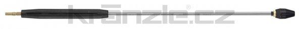 Kränzle nástavec s rotační keramickou bodovou tryskou 055, s plastovým madlem, 1000 mm (D12)