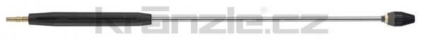 Kränzle nástavec s rotační keramickou bodovou tryskou 075, s plastovým madlem, 1000 mm (D12)