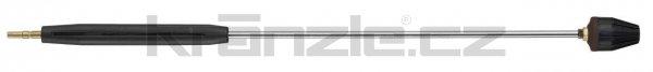 Kränzle nástavec s rotační keramickou TURBO tryskou 10, s plastovým madlem, 1000 mm (D12)