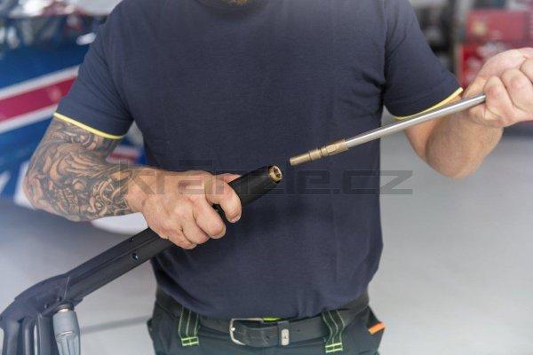 Kränzle dvojitá tryska dlouhá 660 mm s otočnou rukojetí ISO (D12)