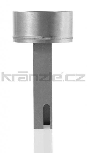 Kränzle adaptér k připojení ke komínu pro therm dlouhý, 385 mm (spalinový výfuk)
