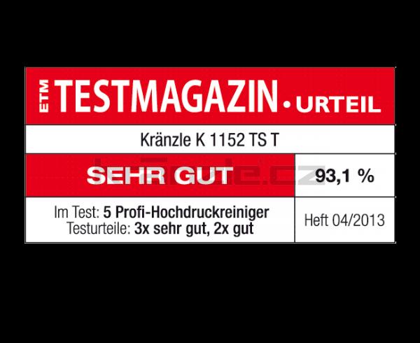 Vysokotlaký čistič Kränzle K 1152 TST (D12)